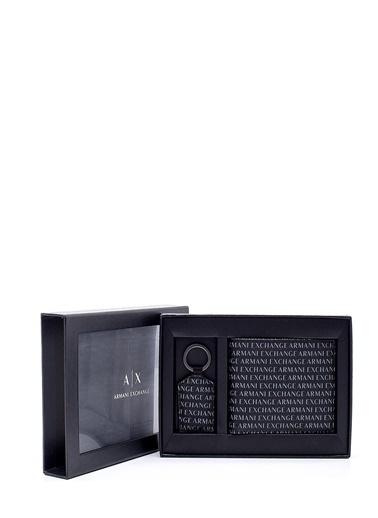 Armani Exchange Armani Exchange 958102Cc230 Logo Baskılı Nero Erkek Cüzdan Anahtarlık Renkli